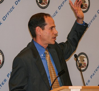 Bruce Kisliuk, then Assistant Deputy Commissioner for Patents, April 2011 at a USPTO clean-tech stakeholders meeting.