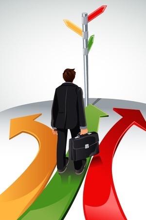 businessman-path-choice