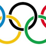 Designed in 1912 by Baron Pierre de Coubertin, the founder of the modern Olympic Games. Public Domain.