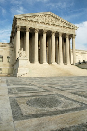 U.S. Supreme Court front