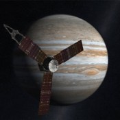 """Juno"" by NASA. Public domain."