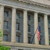 Department of Commerce, Herbert C. Hoover Building in Washington D.C.