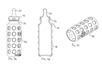 Figure 3A-3C of U.S. Patent No. 8,579,133, owned by Lifefactory, Inc.