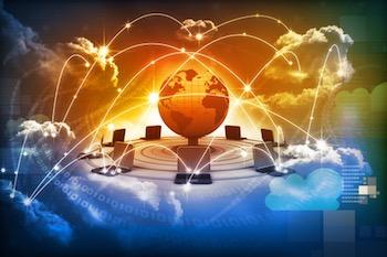 cloud-data-network-globe