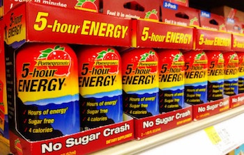 """""""5-hour Energy"""" by Mike Mozart. Licensed under CC BY 2.0."""