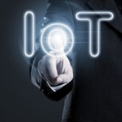 IoT businessman