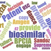 Biosimilar word cloud