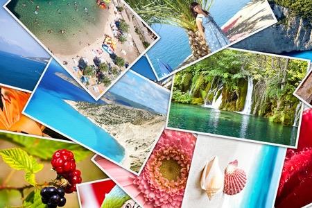 Mosaic of photos