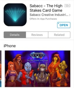 Sabacc - The HIgh Stakes Card Game