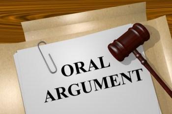 Oral argument - https://depositphotos.com/stock-photos/oral-argument.html?filter=all&qview=94792232