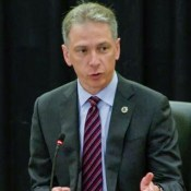 Andrei Iancu, Director of the USPTO at PPAC, Aug. 2, 2018.