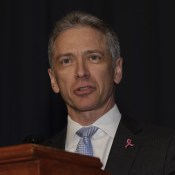 USPTO Director Andrei Iancu at the AIPLA annual meeting, October 15, 2018.
