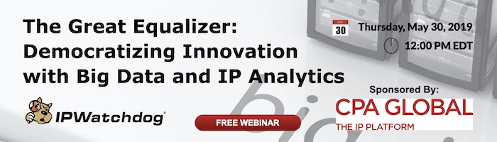 Free IPW Webinar - The Great Equalizer: Democratizing Innovation