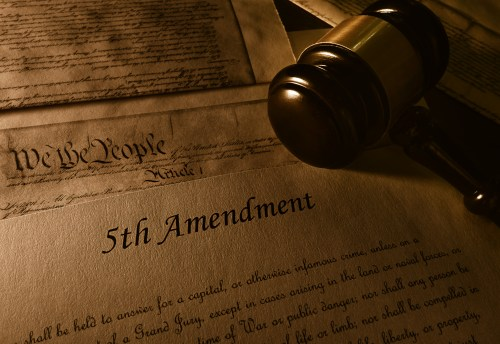 Fifth Amendment - https://depositphotos.com/201240394/stock-photo-text-fifth-amendment-constitution-gavel.html