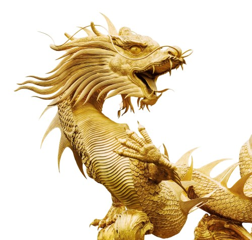 Chinese dragon - https://depositphotos.com/34939871/stock-photo-giant-golden-chinese-dragon.html