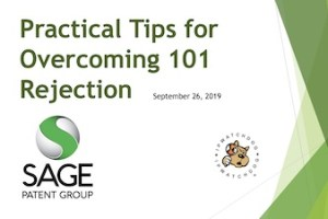 Practical Tips for Overcoming 101 Rejection – September 26, 2019