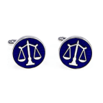 Scales of Justice Cuff Links
