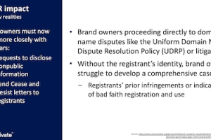 The GDPR: Fighting Infringement On An Anonymous Internet – August 20, 2020