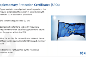 AWA – Protecting Medicinal and Plant Products in Europe with SPCs – Mar 25, 2021