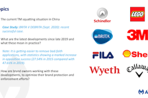 AWA – Brand Wars – China Steps Up to the Plate Against Trademark Squatters – Jul 27, 2021