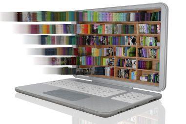 https://depositphotos.com/403527238/stock-photo-illustration-library-lots-books-laptop.html