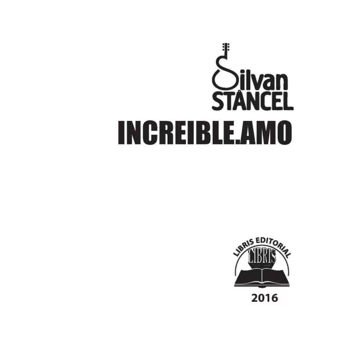 7.14 Silvan Stâncel - INCREIBLE.AMO