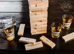 "Drinking Game ""Turnul petrecerii"" cu shoturi MindBlower"