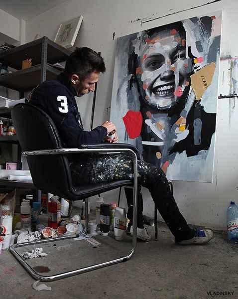 Vladinsky interviu IQool despre pictură