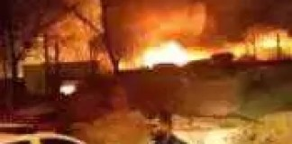 Incendiu puternic în clubul Bamboo