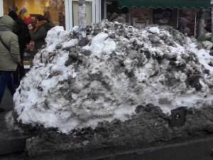 10 motive pentru care urâm zăpada Bucureștiului