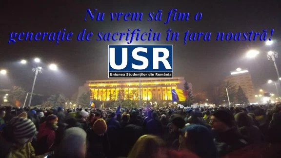Studenții NU acceptă ca viitorul României să fie furat prin grațiere și dezincriminare!