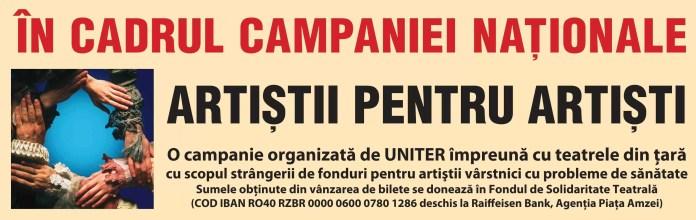 straif. Campania Nationala Artistii pentru Artisti