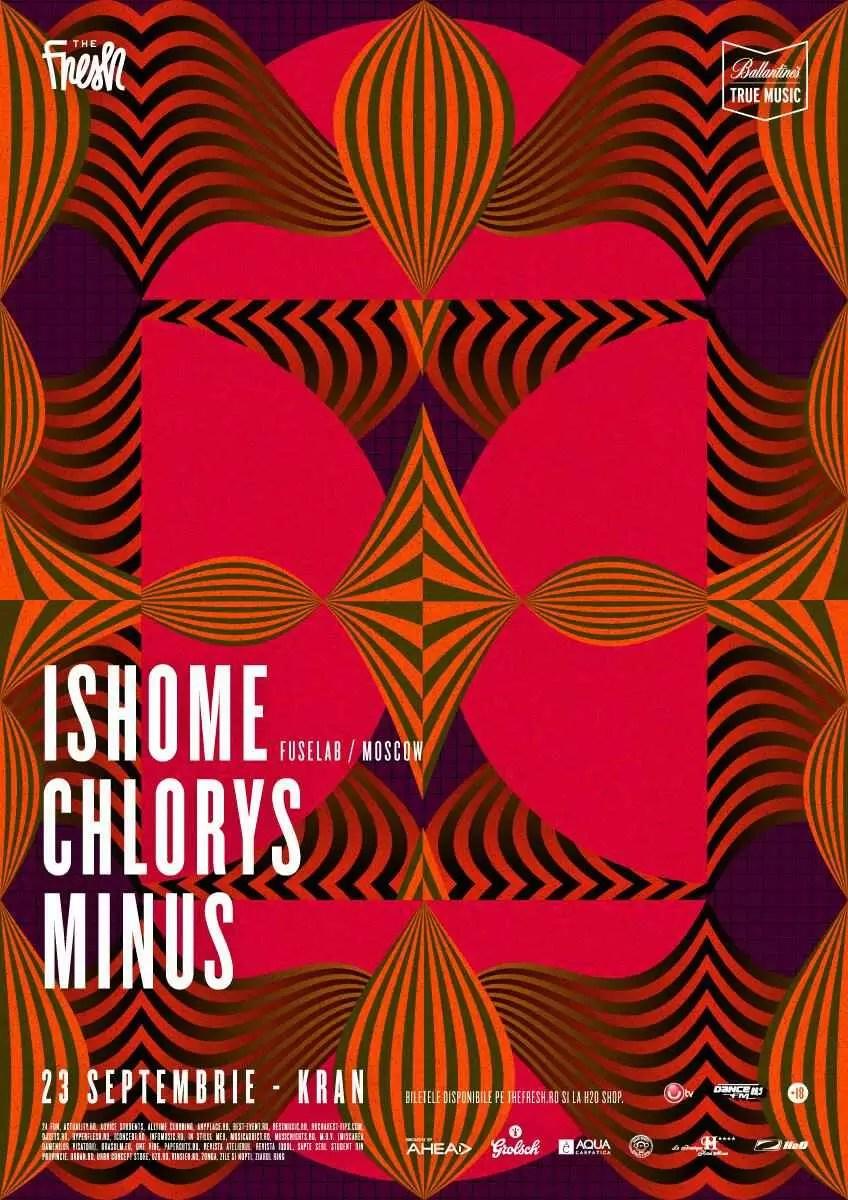 ISHOME / CHLORYS / MINUS