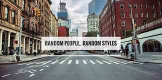 Random people, Random styles