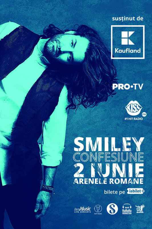 Afis concert smiley