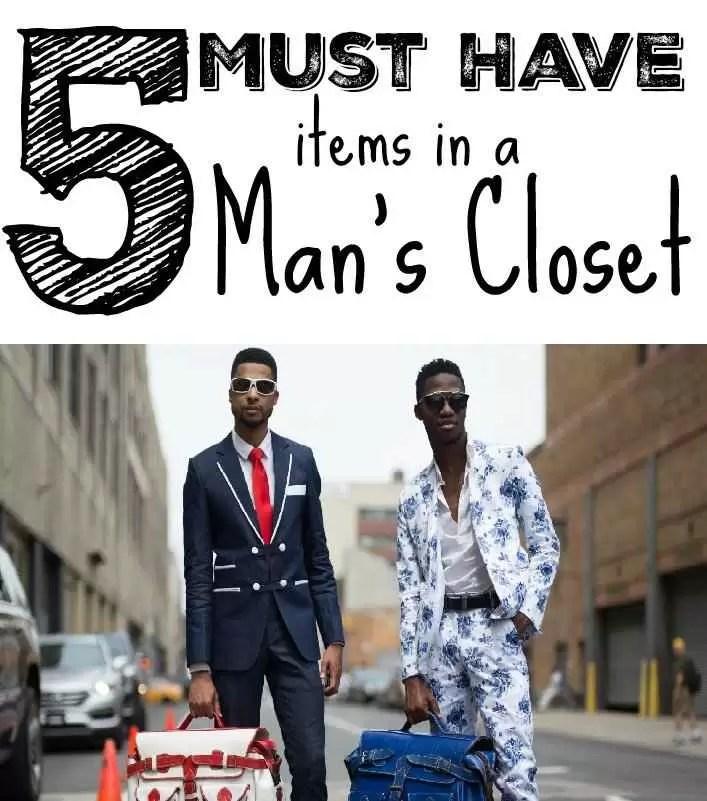5 articole must-have în garderoba masculină