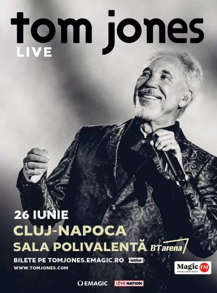 concert live Tom Jones afis