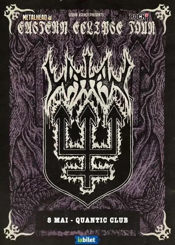 Watain concert afis