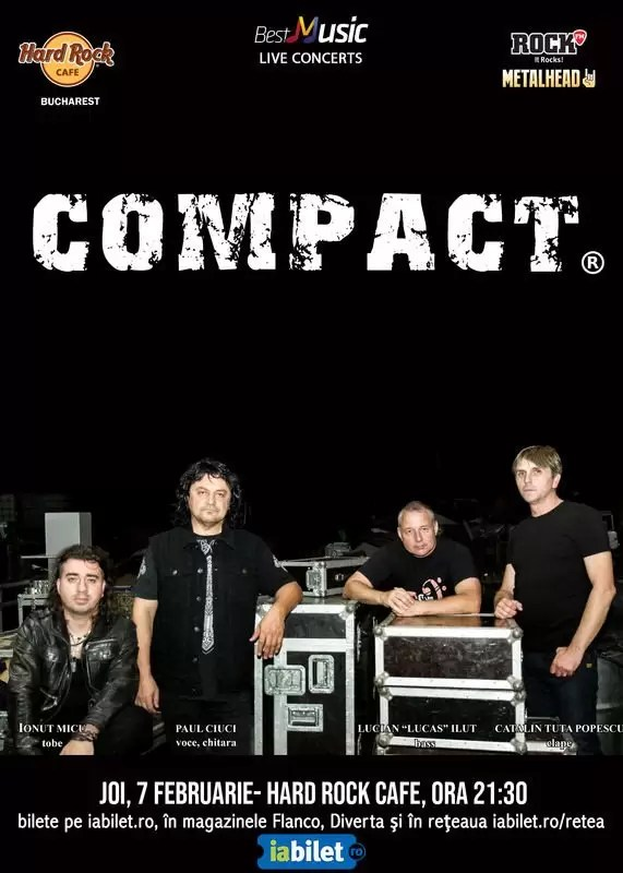 BestMusic Live Concerts - concert Compact afis