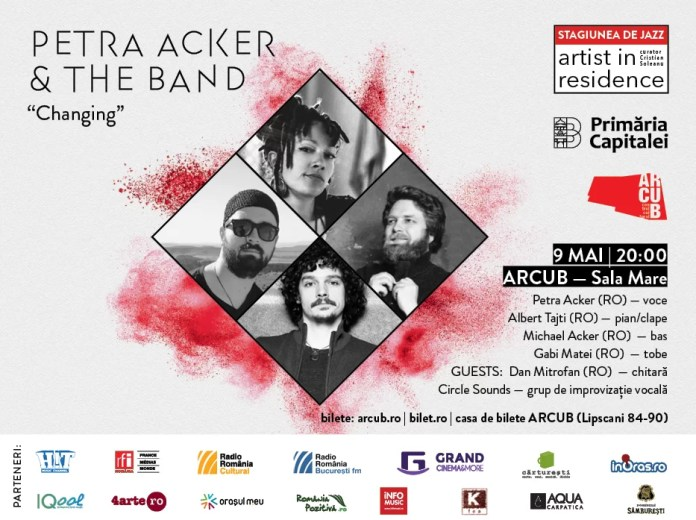PETRA ACKER & THE BAND-afis