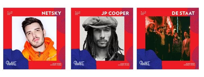Awake JP COOPER afiș