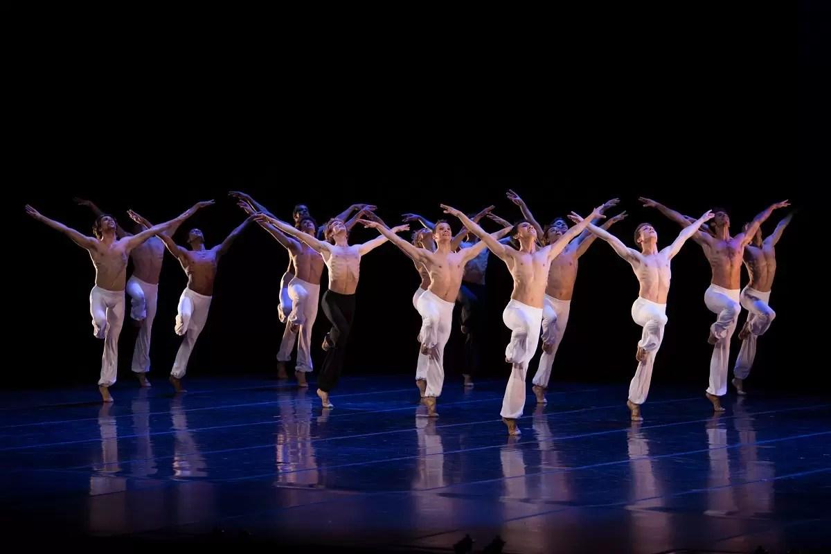 Béjart Ballet-afis