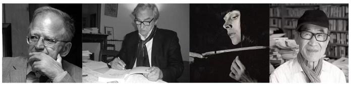 oaspetii Festivalului Internațional de Poezie București afiș