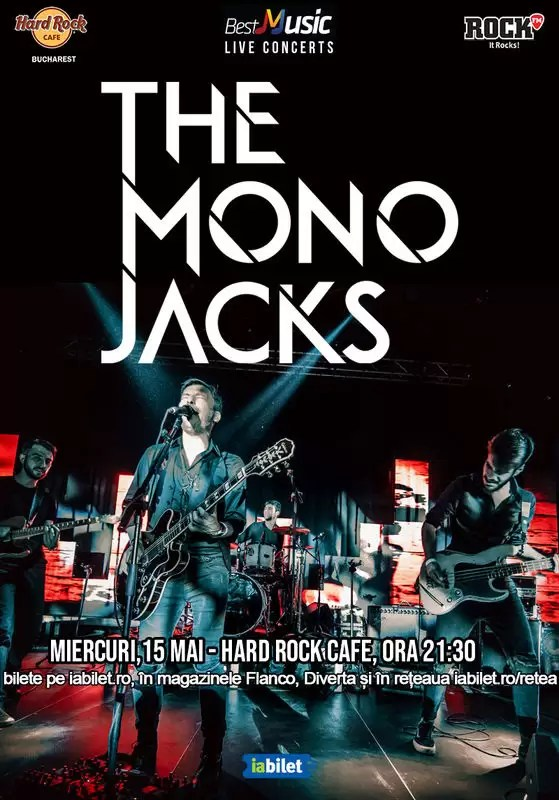 The Mono Jacks concert mai 2019