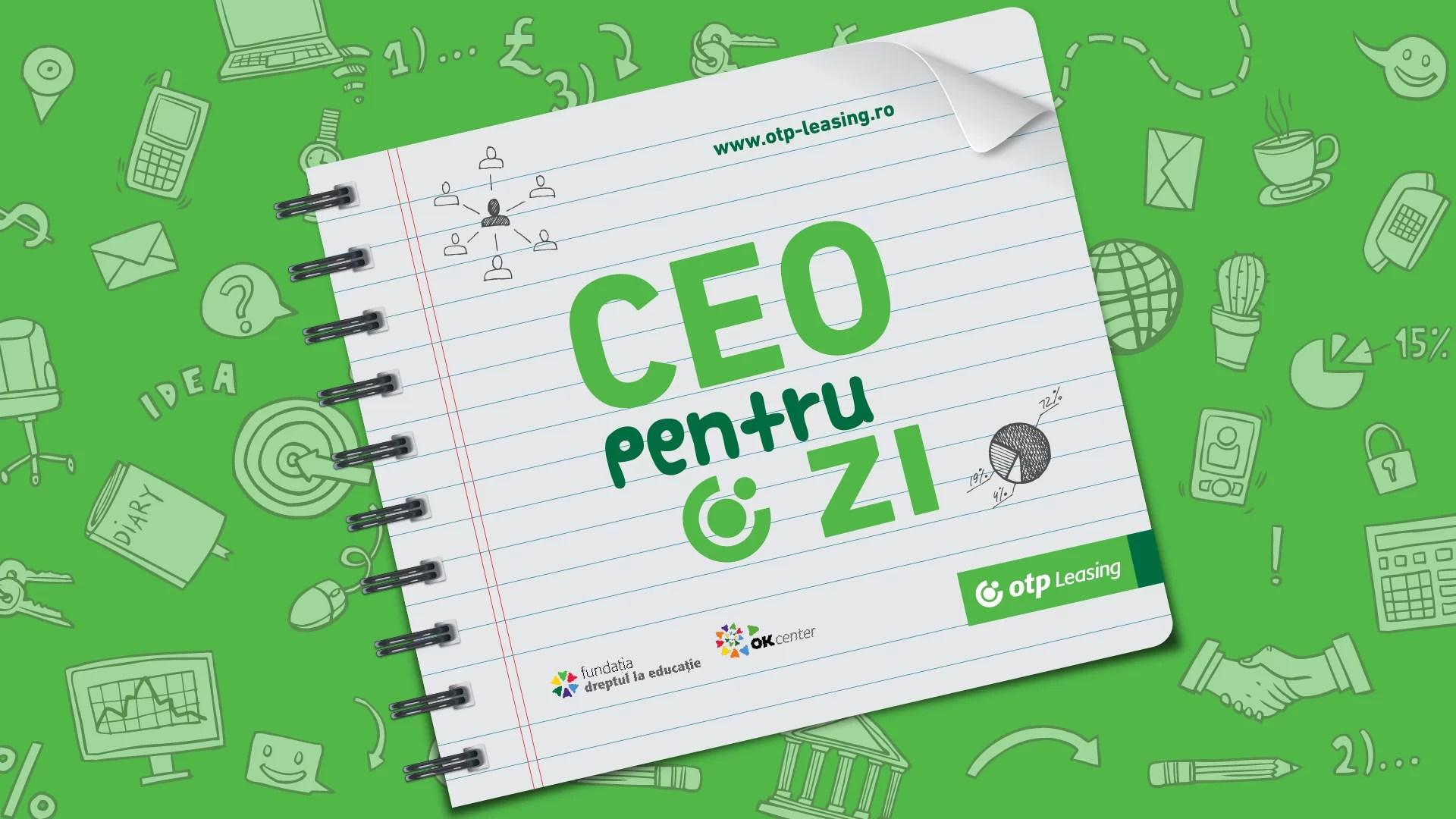 CEO pentru 1 zi eveniment