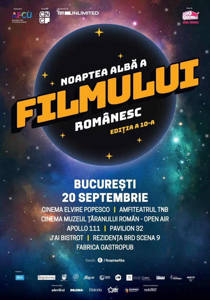 Nopții Albe a Filmului Românesc afiș