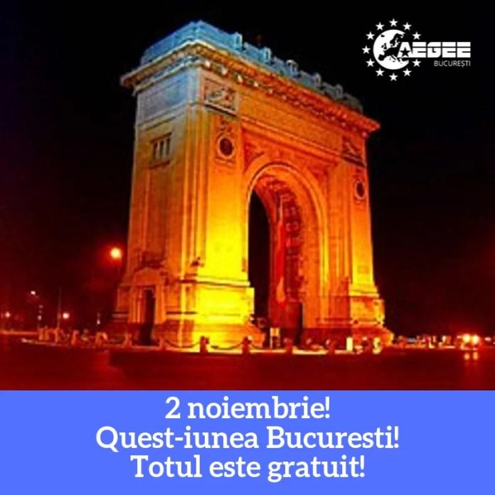afis QUEST-iune București!