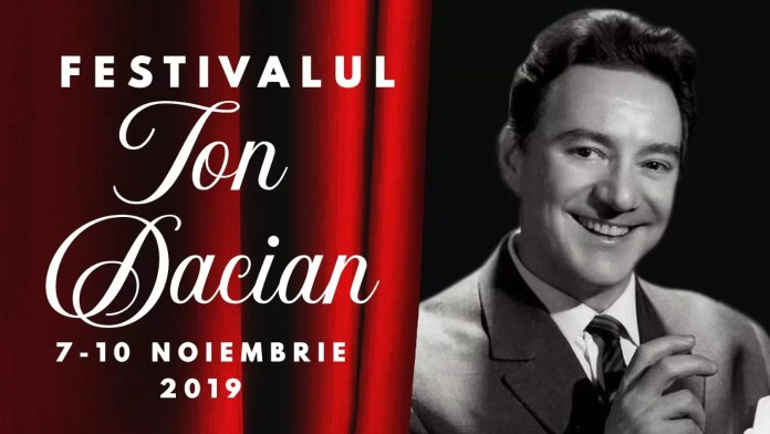 "Festivalul ""Ion Dacian"" afiș"