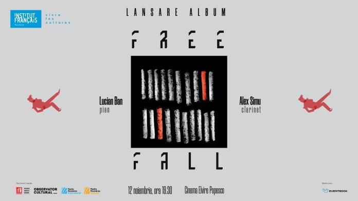 concert Lucian Ban și Alex Simu afiș