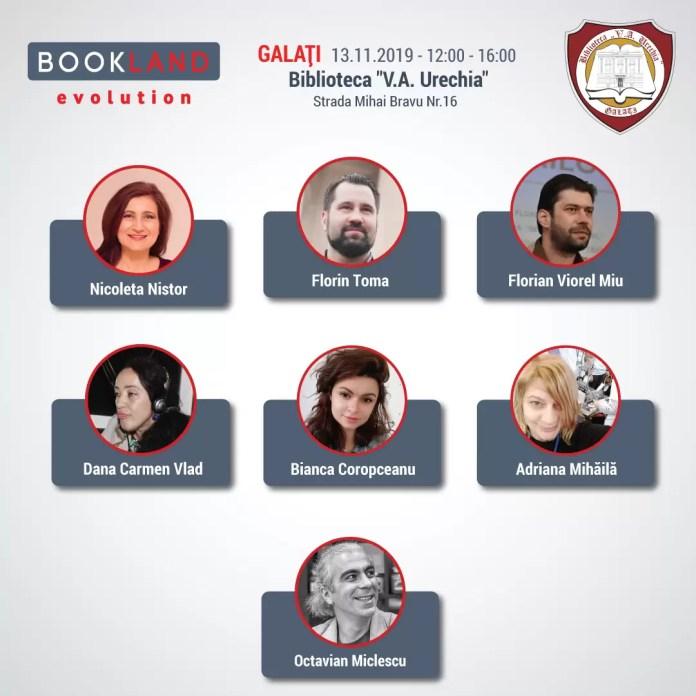 Conferinţele BookLand Evolution Galati